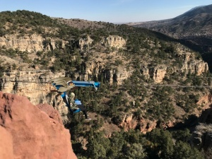 Colorado Springs with Kids: Cave of the Winds Batapult