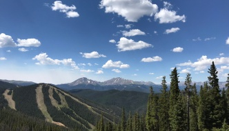 Keystone in Summer