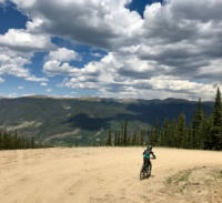 Mountain Biking At Keystone